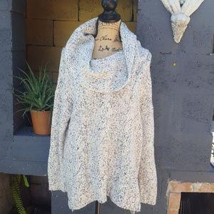 Kensie oversized cowl neck sweater